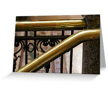 Bold As Brass Greeting Card