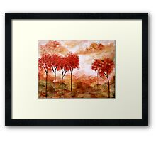 Burning Promise Framed Print