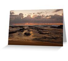 Sunrise over Wamberal Greeting Card