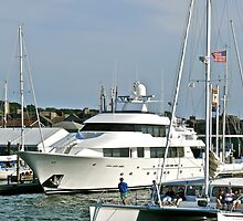 """Yacht's In Newport Harbor"" - Newport, Rhode Island - © 2008 by Jack McCabe"