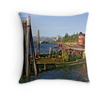 final resting place HDR Throw Pillow