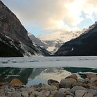 Lake Louise in all its glory by Richard Shakenovsky
