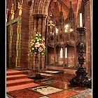 Chester Cathedral Interior III by Emma Wright