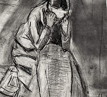 Weeping Woman(after Van Gogh) by RobynLee