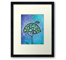 Beautiful nonentity, could you please exist? Framed Print