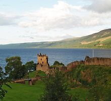 Urquhart Castle and Loch Ness by WatscapePhoto