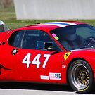 Ferrari Up Close by Chuck Zacharias