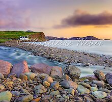 • Waterville Bay Sunset by Madeleine Weber / www.calaido.com by Madeleine  Weber