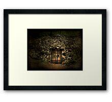 Labyrinth Trap Framed Print
