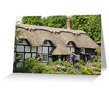 Heather Cottage, Micheldever, Hampshire, southern England (2) Greeting Card