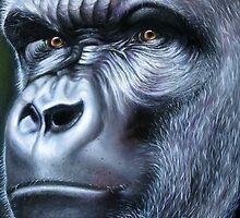 Primate-Gorilla by Francesca Romana Brogani