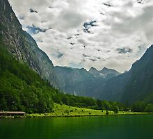 Southern end of Königssee by Béla Török