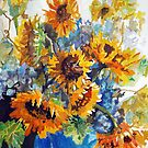 Vase Full of Sunshine by Jim Phillips