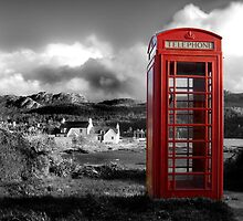 Red Phone Box by Mabel Forsyth