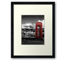 Red Phone Box Framed Print