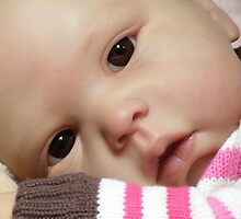 Reborn Baby Fake doll by Cassie Peek
