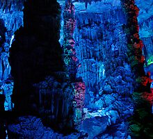 Cave Grotto - Guilin, China by Alex Zuccarelli