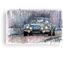Alpine A 110  Canvas Print