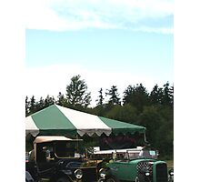 Old Fords - Classic and Rat Rod Photographic Print