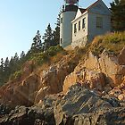 Bass Harbor Light by Michele Conner