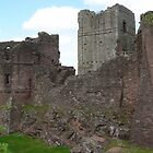 Goodrich Castle, Herefordshire UK by blackbadger