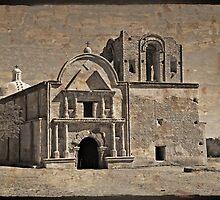 Tumacacori Ruins by Barbara Manis