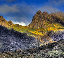 Cradle  Mountain -(Colour) Cradle Mountain National Park - The HDR Experience by Philip Johnson