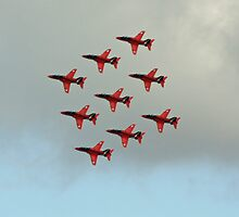 red arrows display team by anfa77