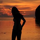 Sunset sillouette by keystime42