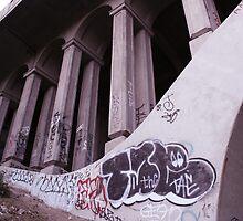 Bridge to nowhere by Matt Ravick