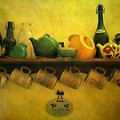 Wine and Tea by Gayle Dolinger
