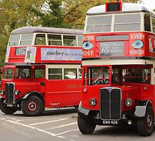 TWO 1930's London Transport Double Deckers by Hertsman