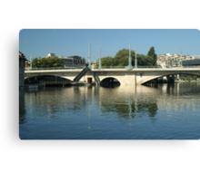 Coulou bridge Canvas Print