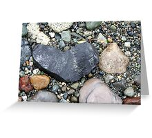 My Heart Is A Rock Greeting Card