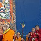 Dalai Lama in Bendigo by Harry Oldmeadow