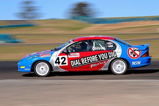 Ian Chivas - Kumho Aust Saloon Car Series by Gino Iori