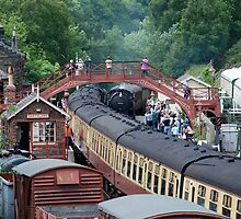 NYMR - Goathland Station by dougie1page2