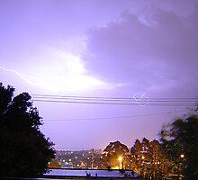 Purple Storm & Lightning by KazM