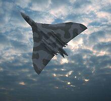 XH558 to the Sky by Tony Dewey