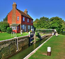 Stoke Lock - HDR by Colin J Williams Photography