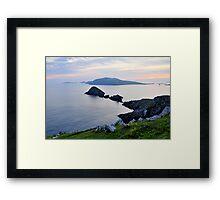 Blasket Islands Framed Print