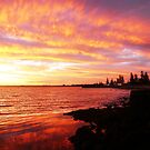 Sunset at Elwood Beach by Roz McQuillan