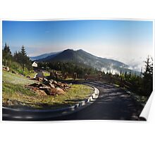 View from Mount Mitchell Poster
