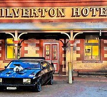 Mad Max's Car at Silverton Hotel  by John Miner
