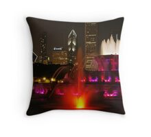Come to Chicago Throw Pillow