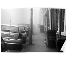 Foggy Morning on Collection Day Poster