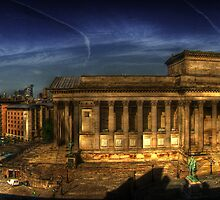 St George's Hall Liverpool by Nathan O'Brien