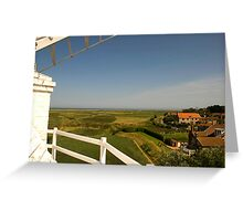 View From The Top Greeting Card