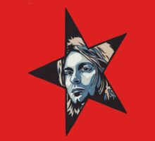 Kurt Cobain T-Shirt by Angelique  Moselle