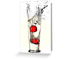 Red Sea, Black Sea Greeting Card